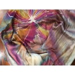 Hand Drawn Batik Silk Scarf by Hai Lian