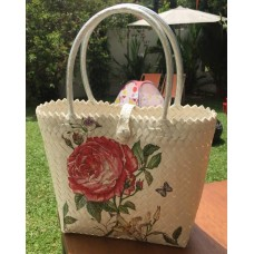 Decoupage Penan Bag