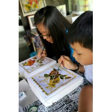 Batik Coloring & Waxing