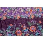 Violet Tropical Garden