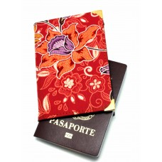 Batik Passport Holder