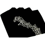 Wayang Kulit Placemat Set of 4pcs.