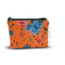 Batik Zipped Pouch Medium