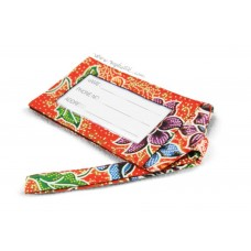 Batik Luggage Tag