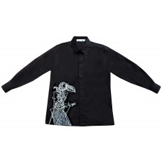 Wayang Kulit Long Sleeves Men Shirt