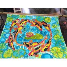 Batik Koi by Sek Yin
